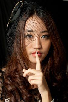 Free Portrait Of Asian Woman Stock Photos - 21278533