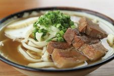 Free Okinawan Noodles Stock Images - 21279034
