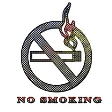 Free Corroded Metal No Smoking Sign Royalty Free Stock Photo - 21279165
