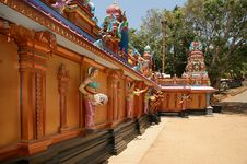 Free Hindu Temple, South India, Kerala Stock Image - 21279431