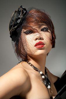 Free Portrait Of Asian Woman Stock Photos - 21279453