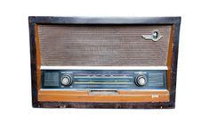 Free Vintage Fashioned Radio Isolated Stock Images - 21279464