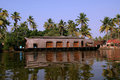 Free House Boat In The Kerala (India) Backwaters Royalty Free Stock Image - 21280416