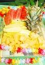 Free Closeup Of Fruit Plate Royalty Free Stock Photos - 21285058