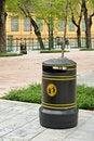 Free Vintage Style Garbage Bin Stock Photo - 21288570