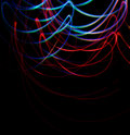 Free Chaotic Colorful Lights Royalty Free Stock Photography - 21289887