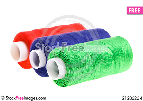 Free Color Threads Stock Images - 21286264