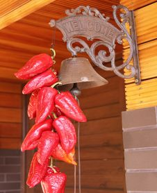 Red Peppers And Bell Royalty Free Stock Photos