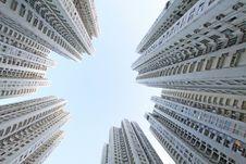 Free Hong Kong Buildings Royalty Free Stock Photo - 21280165