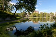 Free Harlem Meer In Central Park. Royalty Free Stock Images - 21280209