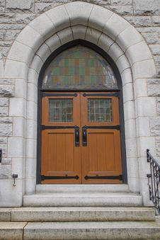Free Old Historic Church Doors Stock Photography - 21280652