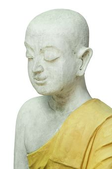 Free Peace Buddism Statue Stock Photography - 21281332