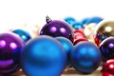 Free Christmas Balls Royalty Free Stock Photos - 21281458