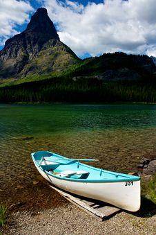 Joy Ride In Glacier National Park Royalty Free Stock Photos