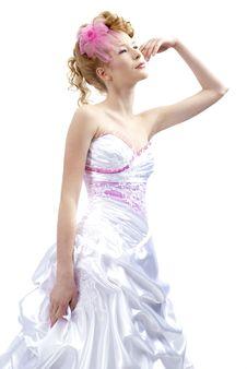 Free Beautiful Girl In Wedding Dress Stock Images - 21283234