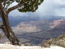 Free Stormy Day In The Grand Canyon Royalty Free Stock Photo - 21283715