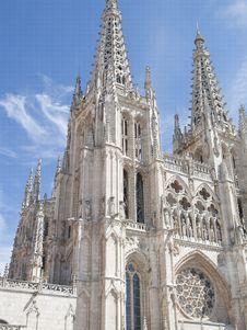 Free Burgos Cathedral, Spain Stock Photo - 21283780