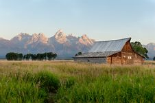 Free Grand Tetons National Park Stock Images - 21283914