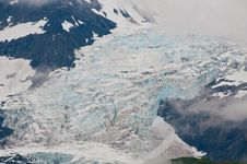 Closeup Of Glacier Royalty Free Stock Photography