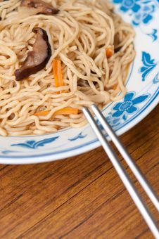 Free Chinese Style Noodles Royalty Free Stock Photography - 21284267