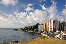Free Farol Da Barra Beach Stock Images - 21284314