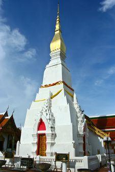 Free Wat Phra That Cheung Chum Royalty Free Stock Image - 21284876