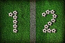 Free Symbol Of Football Royalty Free Stock Photos - 21285578