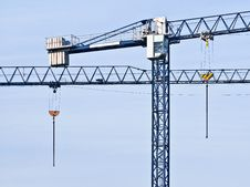 Free Elevating Cranes Stock Photography - 21285632