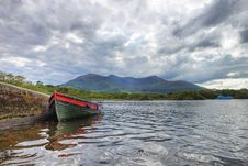 Free Boat On The Lake In Killarney - Ireland. Royalty Free Stock Images - 21286449