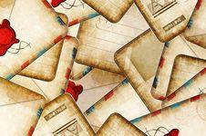 Free Old Envelopes Stock Photos - 21286613