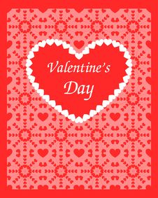 Free Valentine Card Royalty Free Stock Photo - 21286805