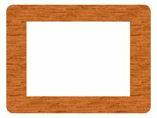 Free Frame Made Of Wood - Insert Your Image Stock Photos - 21287563