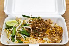 Pat Thai,Thai Food. Royalty Free Stock Images