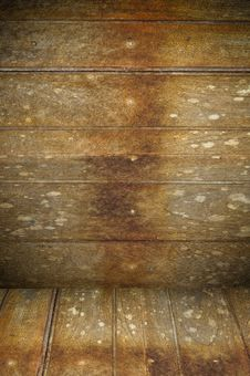 Old Wooden Interior Royalty Free Stock Image