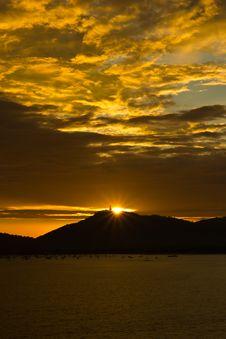 Free The Sun Set Stock Photo - 21289000