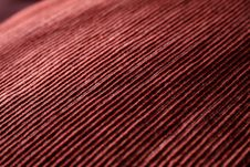 Free Red Woven Fabric Closeup Royalty Free Stock Images - 21289569