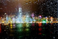 Free Drops Of Water On Glass Royalty Free Stock Image - 21289766