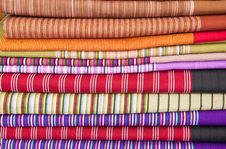 Colorfull Of  Thai Style Native Clothing Royalty Free Stock Image