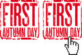 Free First Autumn Day Stock Images - 21291954