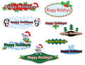 Free Christmas Banners. Royalty Free Stock Photos - 21292808