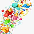 Free Modern Background With Gift Boxes Royalty Free Stock Photos - 21294828