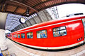 Free Incoming Train In Station Royalty Free Stock Image - 21296816