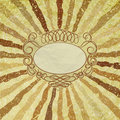 Free A Retro Or Vintage Looking Rays Pattern. EPS 8 Royalty Free Stock Photo - 21298945