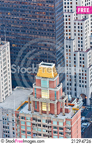 Free Aerial Panoramic View Over Upper Royalty Free Stock Image - 21294726