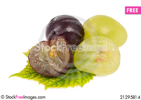 Free Grapes Stock Images - 21295814