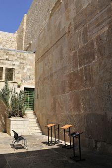 Place For Praying, Hebron. Stock Photos