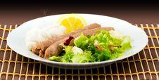 Free Roasted Sausage Stock Photos - 21290063