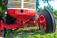 Free Old Tractor Stock Images - 21291054