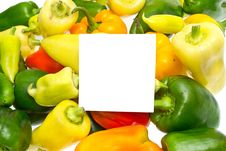 Free Raw And Fresh Vegetable Bell Pepper Royalty Free Stock Image - 21291316