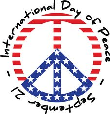International Day Of Peace Royalty Free Stock Photo